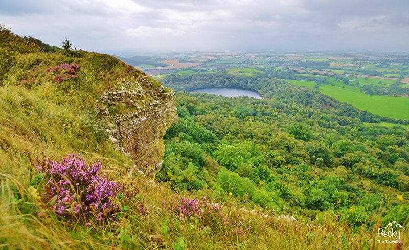 Views near Sutton Bank in North York Moors