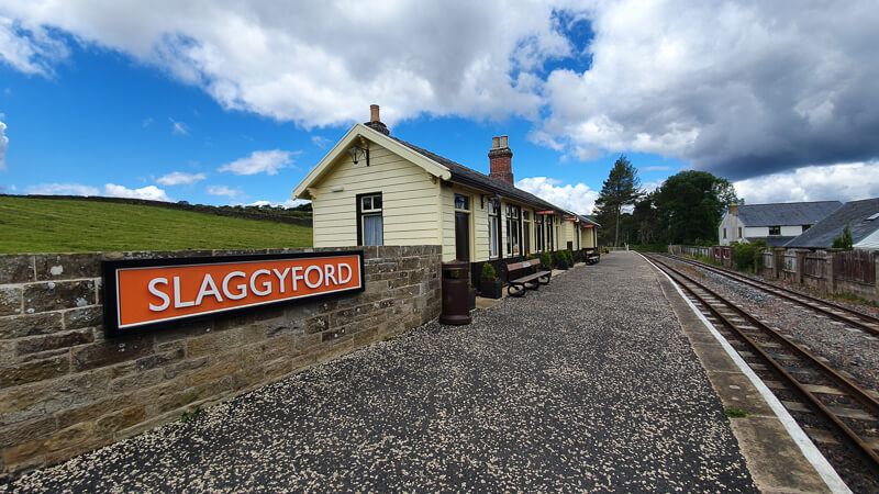 Slaggyford train station near Alston