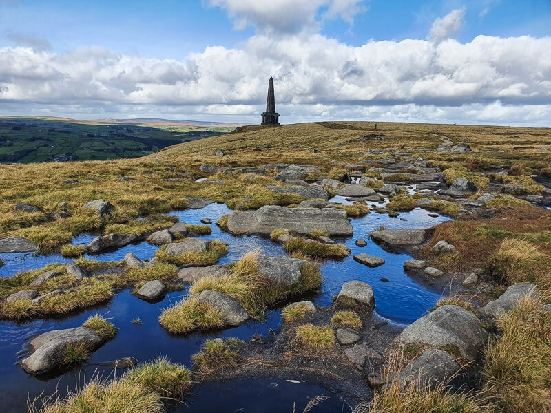 Stoodley Pike near Hebden Bridge